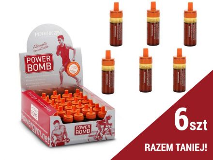 Powergym Power Bomb [6x10ml]