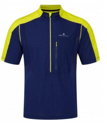Koszulka do biegania Ronhill Trail S/S Zip Tee