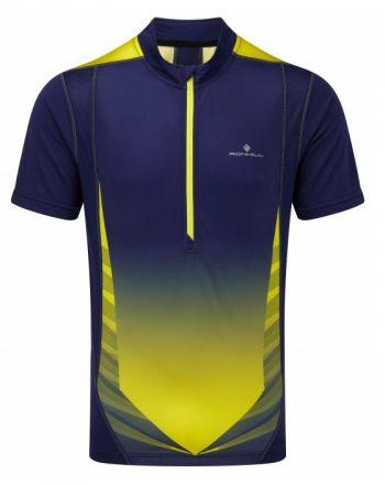 Koszulka do biegania Ronhill Advance 1/2 Zip Tee