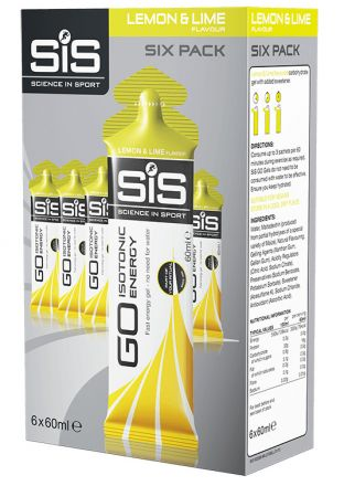 SIS GO Isotonic Gel [6-pack x 60ml]